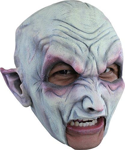 Vampire Nosferatu Blood Sucker Demon Scary Latex Adult Halloween Costume Mask]()