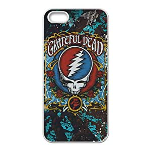 Grateful Dead Fashion Comstom Plastic case cover For Iphone 5s
