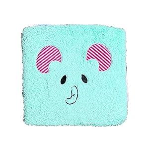Monbedos - 1 cuscino imbottito per sedia da esterni, motivo a quadri, motivo animali 1 spesavip