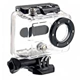 Goliton Protective Housing Case Waterproof with Coated Glass Lens for Gopro Hero 1 and Gopro Hero 2