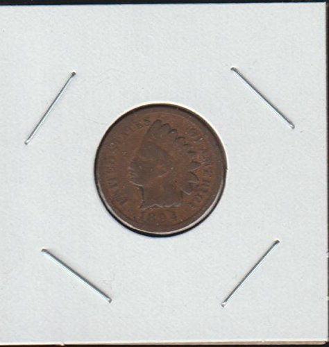 1894 Indian Head (1859-1909) Penny Very Good