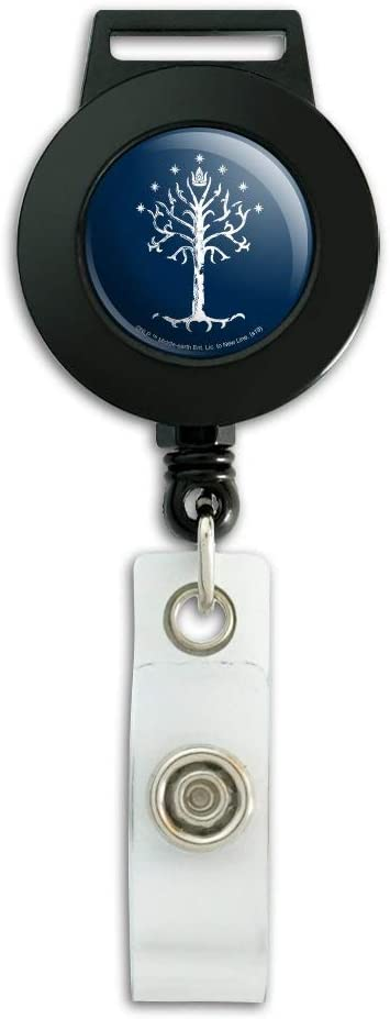 Lord of the Rings Eye of Sauron Lanyard Retractable Reel Badge ID Card Holder
