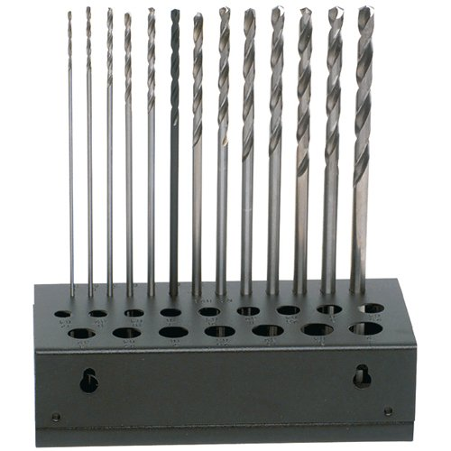 TTC 13 Piece Aircraft Extension Drill Sets - Drill Point Angle: 118° Flute Shape: Helicoid Overall Length : (Drill Point Angle)