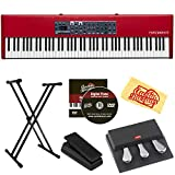 Nord Piano 4 88 Stage Piano Bundle with Stand, Expression Pedal, Austin Bazaar Instructional DVD, and Austin Bazaar Polishing Cloth