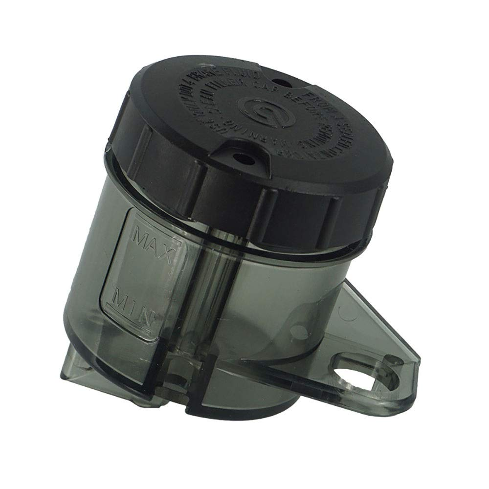 RONGLINGXING Accessories Universal Replacement Repair Motorcycles Parts Rear Brake Clutch Master Cylinder Fluid Reservoir Tank Oil Cap Color : Black