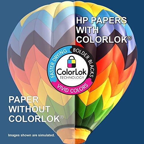 HP Printer Paper legal paper MultiPurpose 20 lb 1 Ream 500 Sheets 96 Bright Made in USA FSC Certified Copy Paper HP Compatible 001420