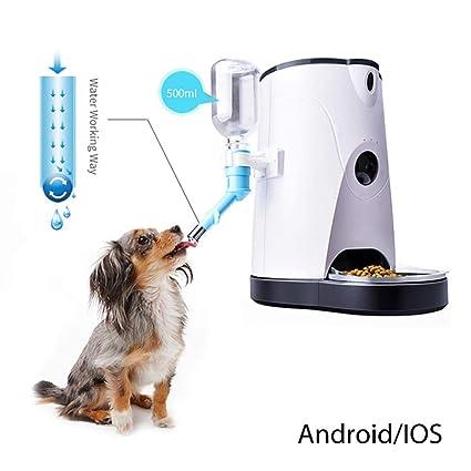 V.JUST Cat/Dog Dispensador Automático De Alimentos para Mascotas Smart Pet Feeder Pet