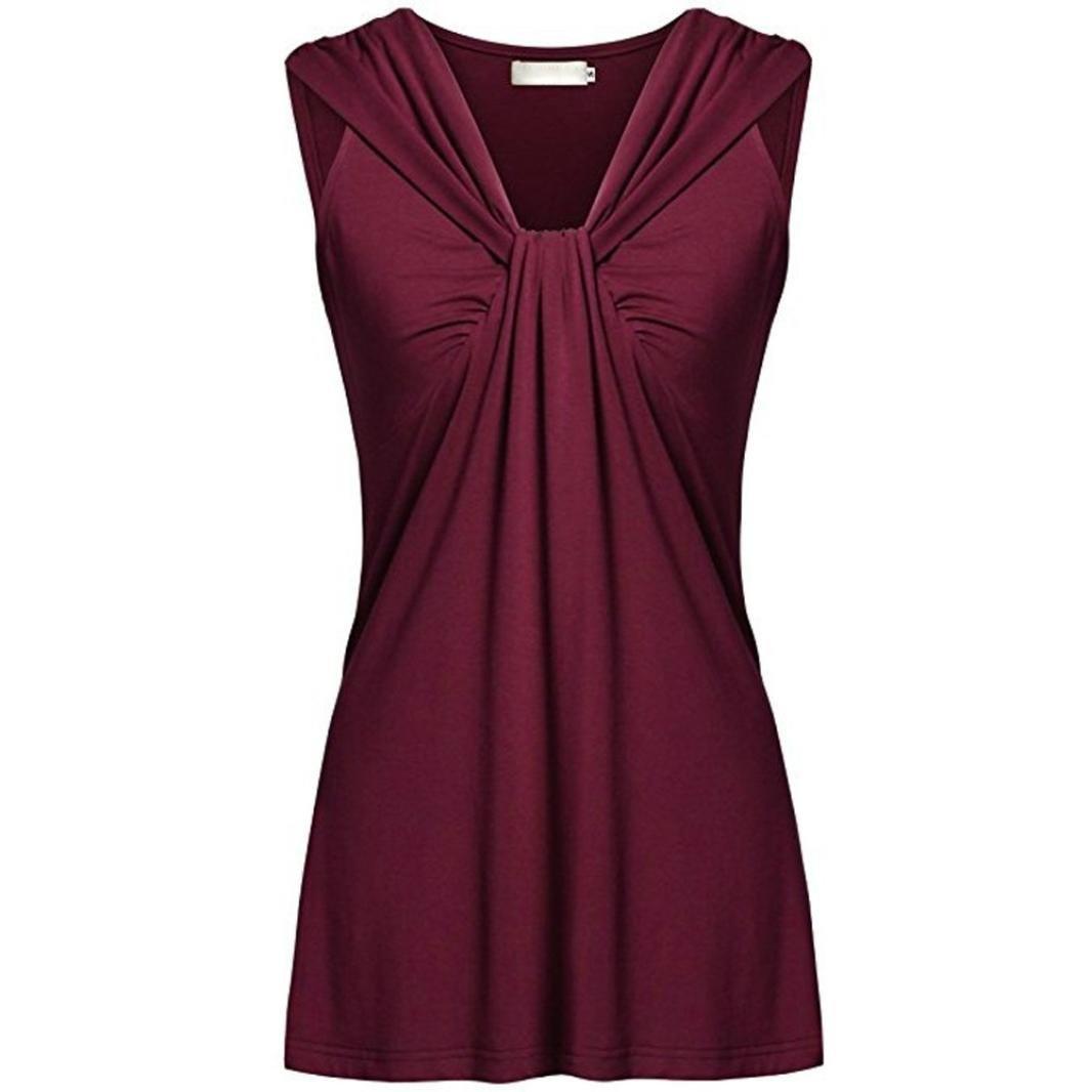 KIMODO T Shirt Damen Sommer Bluse Damen Top ärmellos Reine Farbe Lose Freizeithemd Blusen Große Größe Schwarz Grün Violett Mode 2019