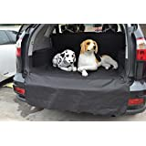 """Pettom Waterproof Pet Seat Cover Cargo Trunk Cover Liner Bed Floor Mat Machine Washable Fits Most Cars, SUV, Vans & Trucks 78"""" L X 42"""" W"""