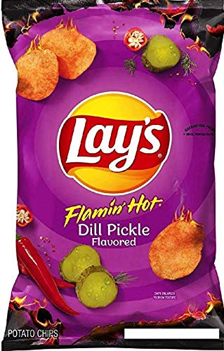 lays dill pickle chips - 5