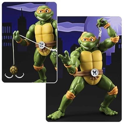 Amazon.com: Teenage Mutant Ninja Turtles Michelangelo SH ...