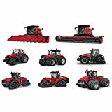 Case IH LARGE 8 Piece Tractor,Combine and Steiger Repositionable Decal Kit