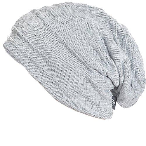 1b2ed63027c FORBUSITE Knit Slouchy Beanie Hat Skull Cap for Mens Winter Summer ...
