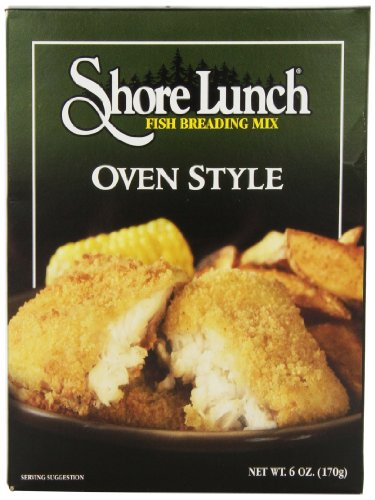 Shore Lunch Oven Breading Mix, 6-Ounce (Pack of 6) (Best Low Calorie Lunch)