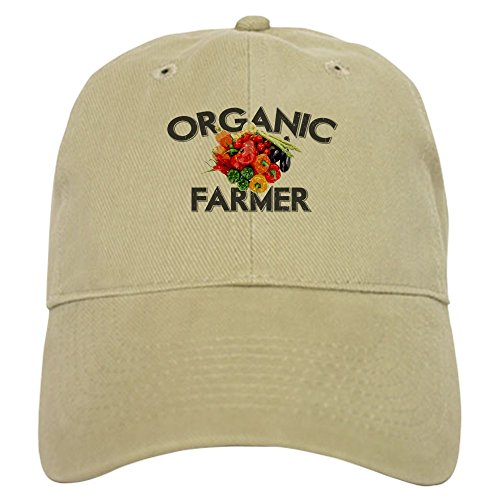 Used, CafePress Organic Farmer Baseball Cap with Adjustable for sale  Delivered anywhere in USA