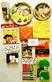 Dora The Explorer Party Supply Pack, Party Ware, Favor Bags (161 Pieces) including a Personal Note in a Sealed Poly Bag
