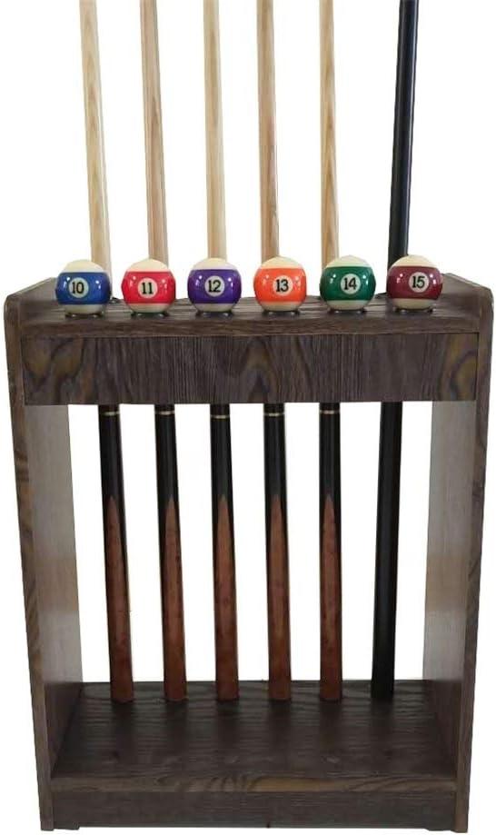 LCRACK プールの手掛りの棚、ビリヤードは男女兼用のために良質6穴12穴を供給します (Size : 12 holes)  12 holes