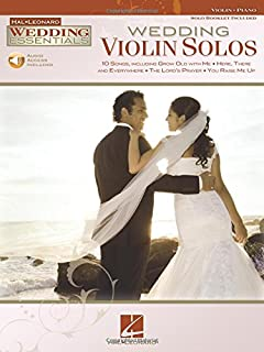 Wedding Violin Solos Essentials Series Instrumental Folio