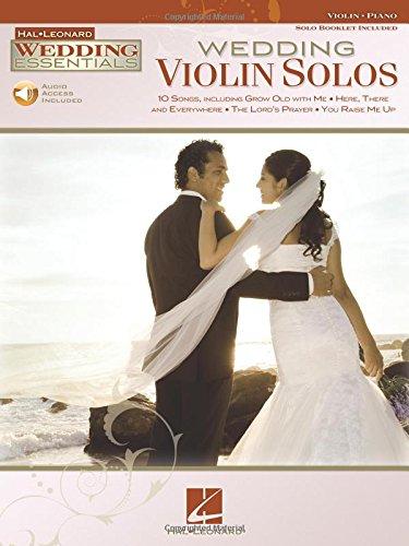Wedding Violin Solos: Wedding Essentials Series (Instrumental Folio)