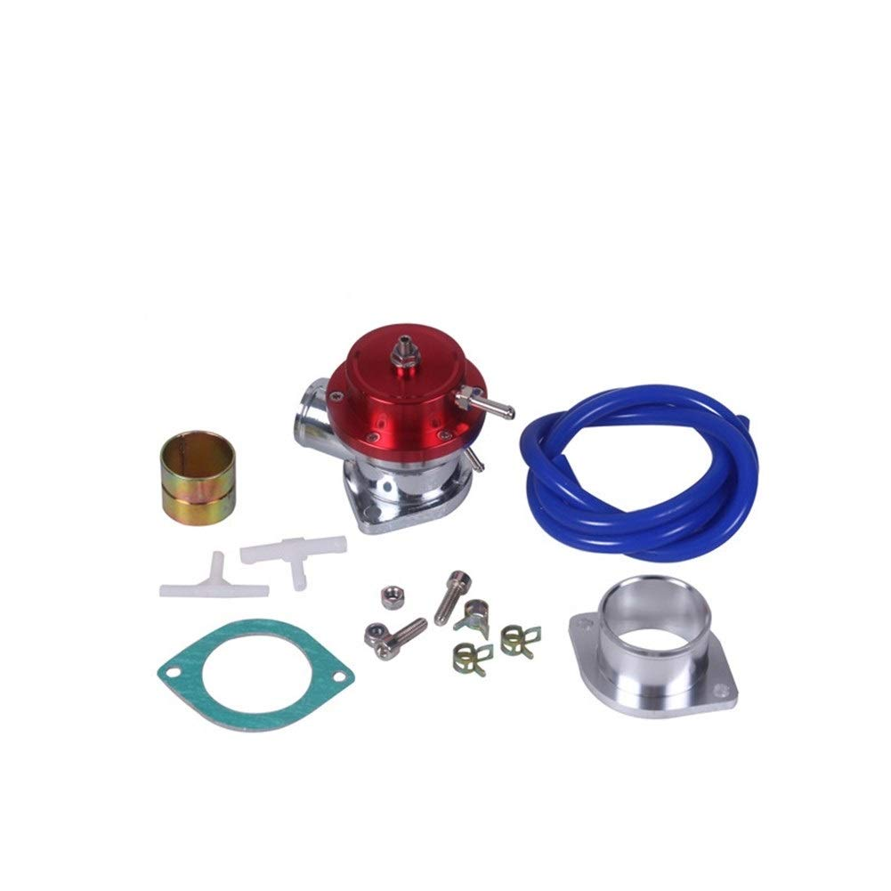 Bin Zhang Car modification parts Pressure relief valve connection base Modified car (Color : Red) by Bin Zhang