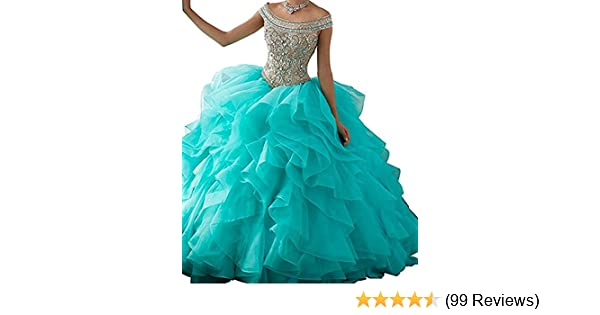 Amazon Bessdress Off The Shoulder Formal Ball Gown Lace