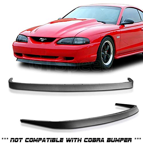 1994-1998 Ford Mustang GT V6 V8 USDM Mach 1 OE Style Front Bumper Lip - -