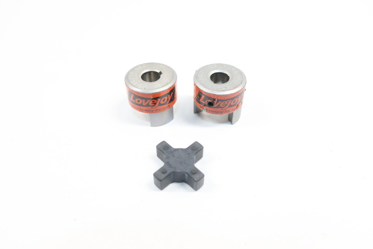 2x Lovejoy 10421 L-070 Jaw Coupling 1//2in
