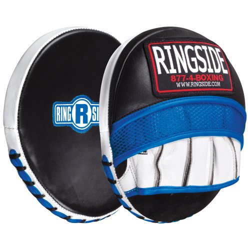 Ringside Gel Micro Boxing MMA Muay Thai Karate Training Target Focus Punch Pad Mitts