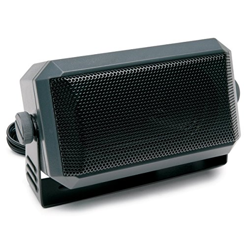 TOPMYS TM-ES604 CB Radio Speaker 8ohm 5W CB Extension Speaker with Swivel Bracket 1.85m cable 3.5mm Mono - Brackets Extension Speaker