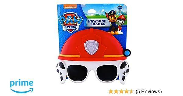 55364c4c340 Amazon.com  Paw Patrol Marshall Costume Mask   Sunglasses  Clothing