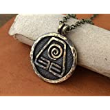 Avatar Last Airbender Earth Kingdom Nation Necklace Pendant Jewelry Element