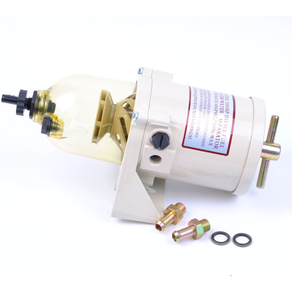500FG 500MP 500FH Diesel Fuel Filter Water Separator Flow Rate 60 GPH Marine Boat by DGparts