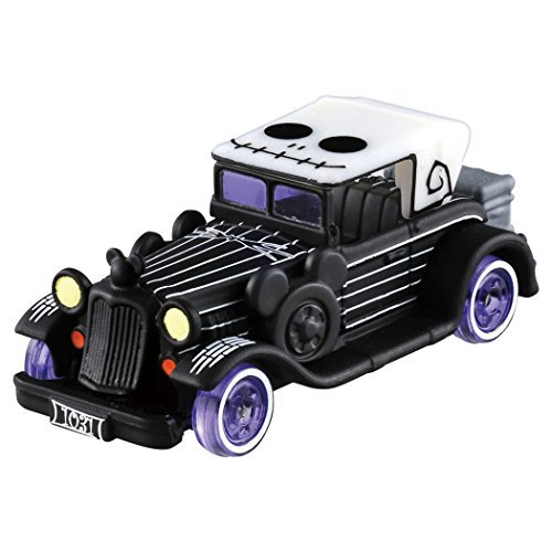 Japan Import Tomica Disney Motors Dream Star Classic Jack Skellington Halloween Edition -