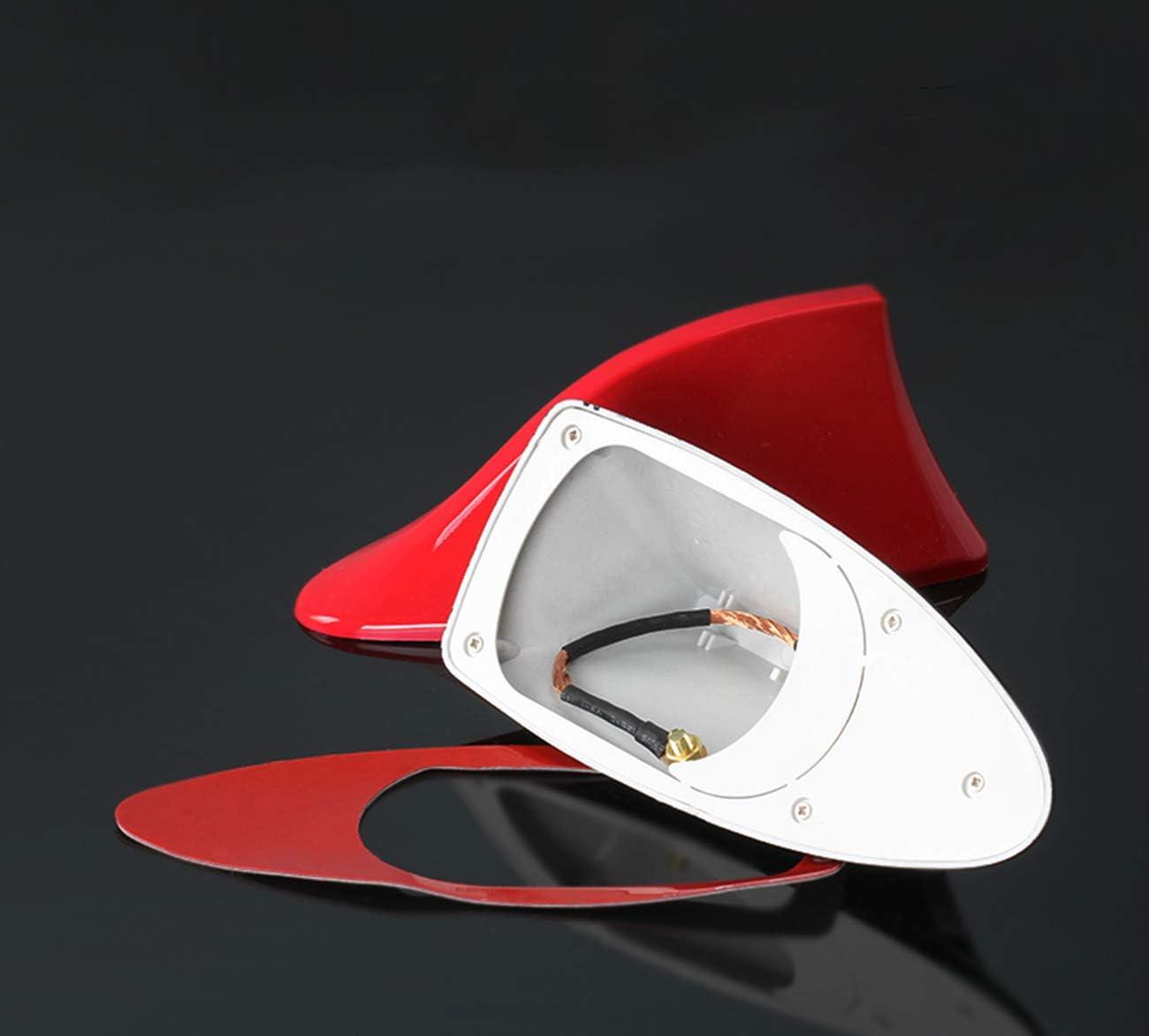 Pinna di squalo Antenna AM FM Auto Segnale Radio Antenna con Adesivo ABS Varnish Vernice Decorazione Nero Auto Antenna