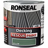 Ronseal RSLDRPW5L 5 Litre Decking Rescue Paint - Willow by Ronseal