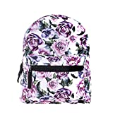Cute 10 inch mini pack bag backpack for grils children and adult (flower)