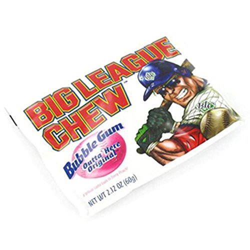 Big League Chew Outta Here Bubble Gum, Original, 12 Count (Pack of 12) -