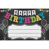 Teacher Created Resources 5466 Chalkboard Brights Happy Birthday Awards