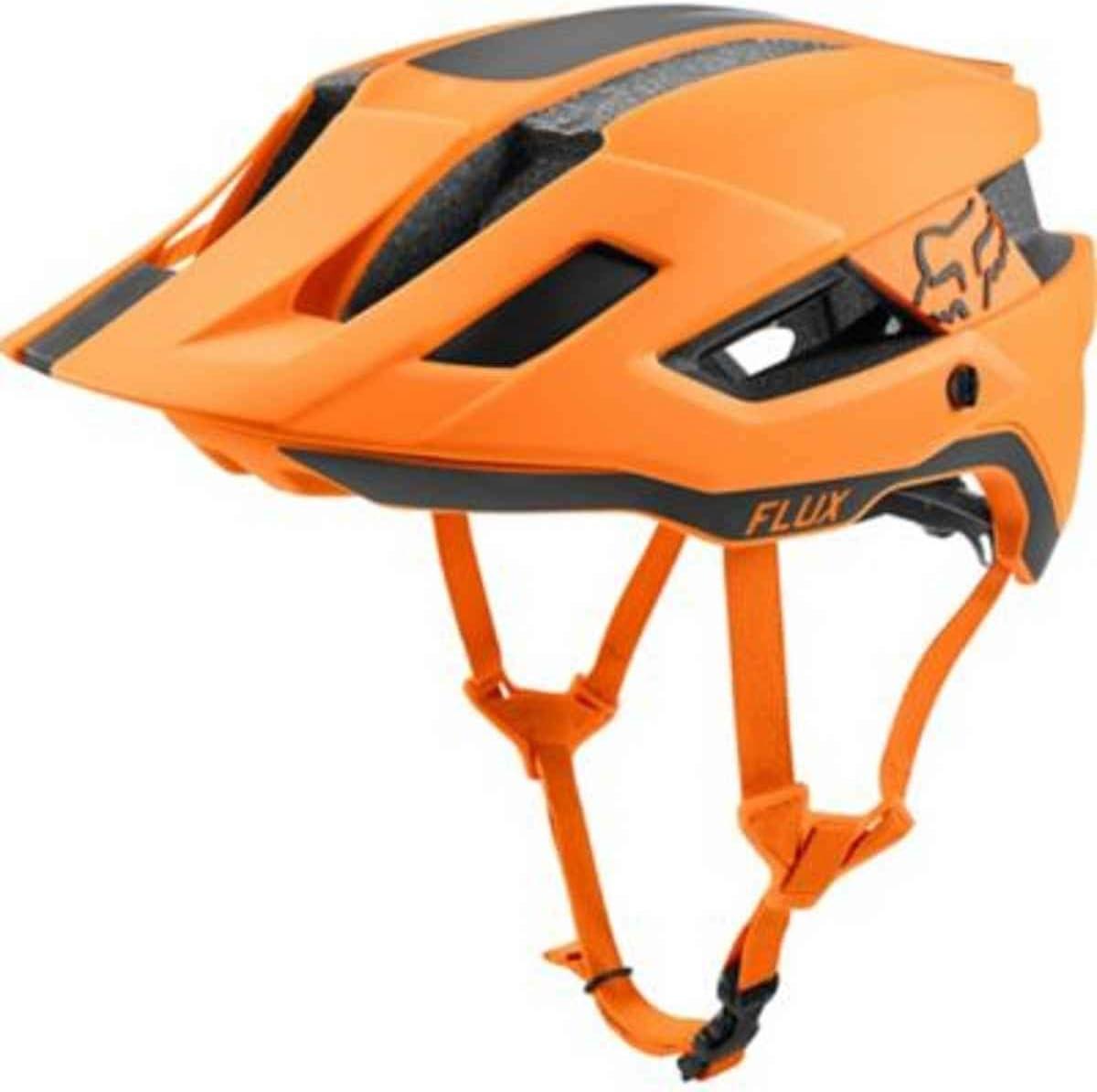 HELMET FOX FLUX RUSH ATOMIC ORANGE L//XL