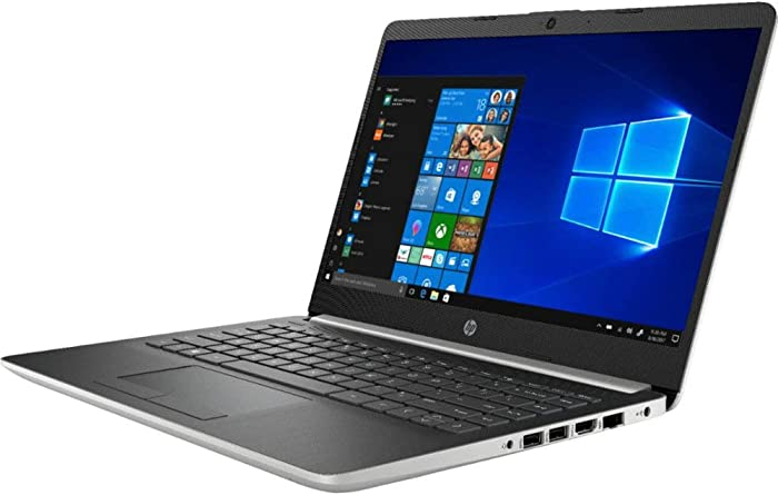 "HP 14"" Touchscreen Home and Business Laptop Ryzen 3-3200U, 8GB RAM, 128GB M.2 SSD, Dual-Core up to 3.50 GHz, Vega 3 Graphics, RJ-45, USB-C, 4K Output HDMI, Bluetooth, Webcam, 1366x768, Win 10"