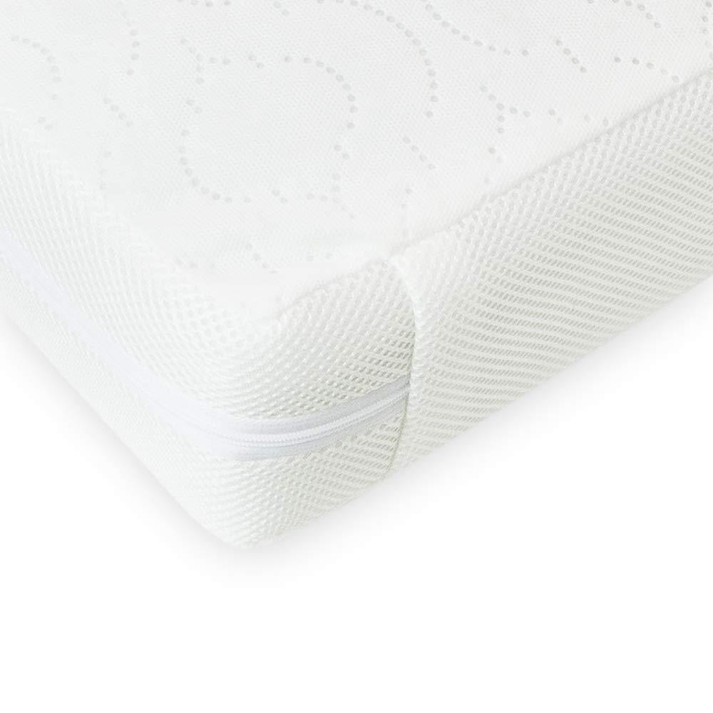 Katy/® Emily Superior Sprung Interior Cot Mattress 117 x 55 x 10cm Thick