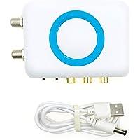 Anboter - Modulador HDMI para MPEG4 (Full HD, 1080p), Color Blanco