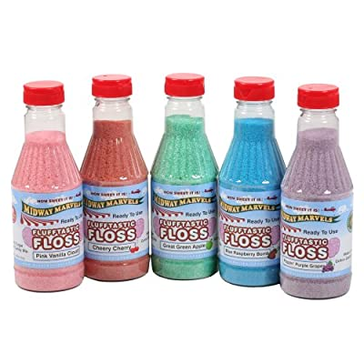 Great Northern Popcorn Company 8510 Cotton Candy Floss 5 Pints