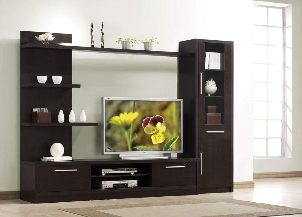 ACME 02476 Malloy Cabinet with 2 Doors, Espresso Finish