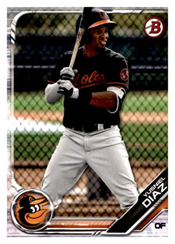 2019 Bowman Prospects #BP-109 Yusniel Diaz RC Rookie Baltimore Orioles MLB Baseball Trading - Cards Orioles Baltimore Topps Baseball