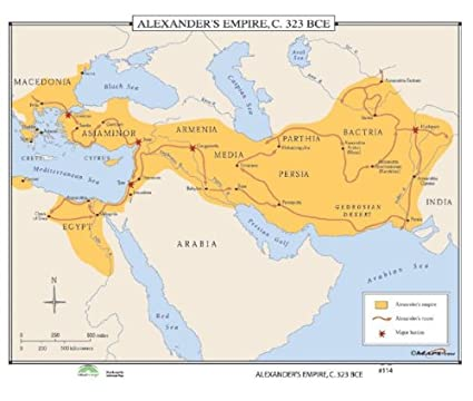Amazon.com: Universal Map World History Wall Maps ... on after alexander the great empire, ancient greece, ancient egypt, napoleon bonaparte, map of augustus caesar empire, map of rivers of the world, breakup of alexander's empire, map of land conquered by alexander the great, battle map alexander the great empire, map of bactrian empire, map of napoleon's empire, peloponnesian war, map ancient greece alexander the great, map of seleucus empire, cleopatra vii of egypt, map alexander great expansion map, extent of alexander's empire, byzantine empire, blank map of alexander's empire, map of magadha empire, how big was alexander's empire, map of the greek empire, philip ii of macedon, roman empire, map of pyramids around the world, julius caesar, cyrus the great, map of phoenician empire, map of the muslim empire, alex the great empire,