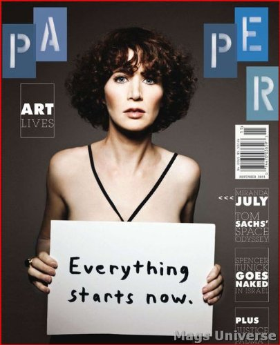 Download Paper Magazine (November, 2011) Miranda July Cover, Padma Lakshmi, Tom Sachs ebook