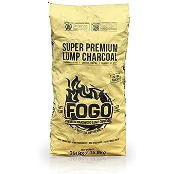 Fogo FHWC35LB 35-Pound All Natural Premium Hardwood Lump Charcoal Bag