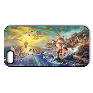Vcase-008 Romantic Beautiful Ariel The Little Mermaid Hard Printed Case Protector for iPhone 5 hongguo's case
