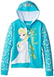 Disney Girls' Frozen Elsa Hoodie, Turquoise, X-Large